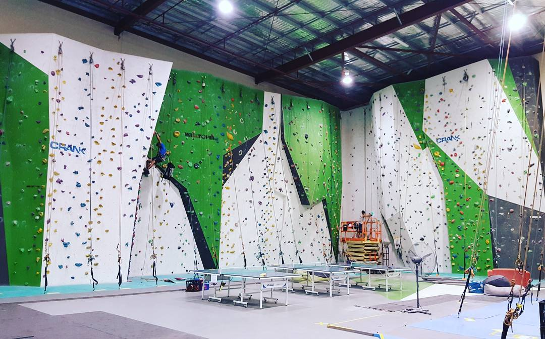 Crank Indoor Rockclimbing Gym